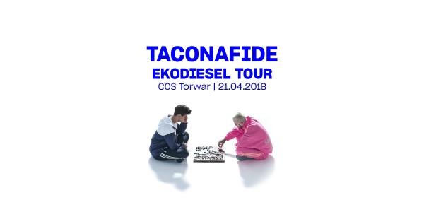Plakat TACONAFIDE (TACO X QUEBO): EKODIESEL TOUR - WARSZAWA