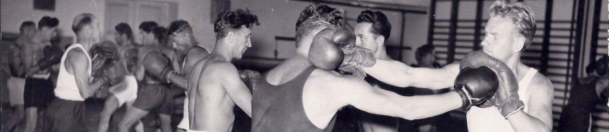 Mała hala trening bokserski