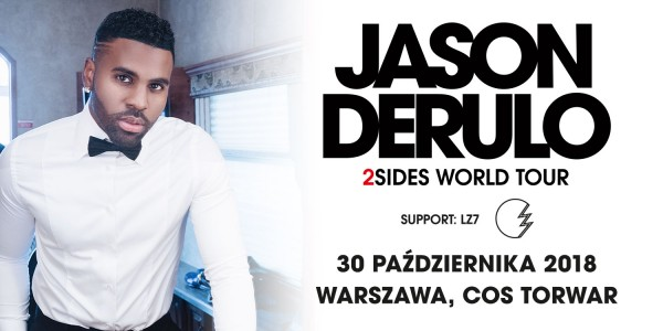 Plakat koncertu Jason Derulo