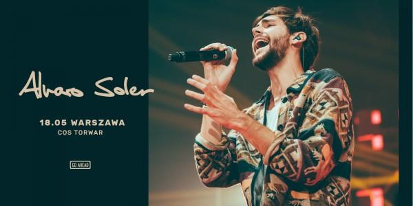 Plakat koncertu Alvaro Soler