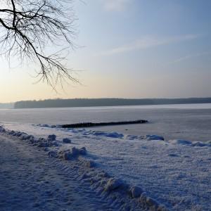 Kisajno zimą