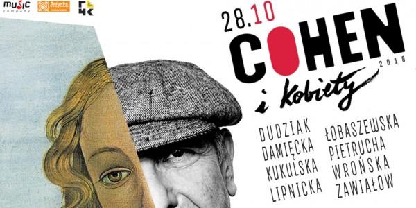 Plakat koncertu Cohen i kobiety