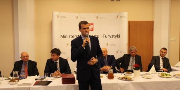 Pierwsze posiedzenie Społecznej Rady Sportu