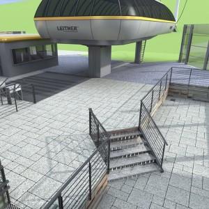 Wizualizacja peronu