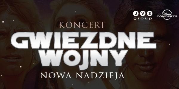 Plakat koncertu Gwiezdnych Wojen
