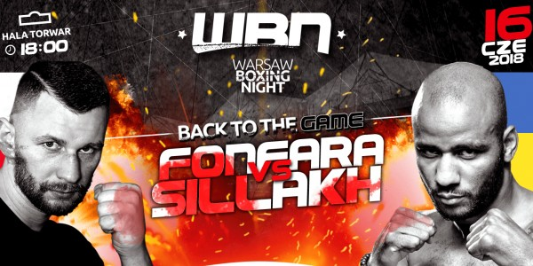 Plakat Warsaw Boxing Night