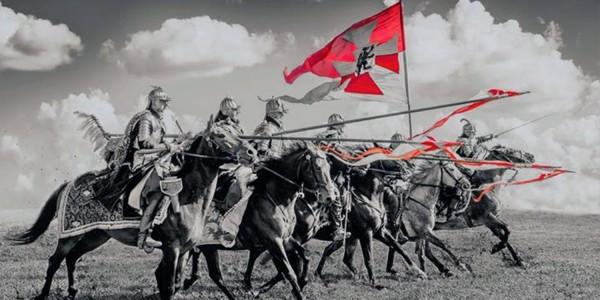 Plakat wydarzenia Międzynarodowego Turnieju Szermierczego z okazji 100. rocznicy Odzyskania Niepodległości