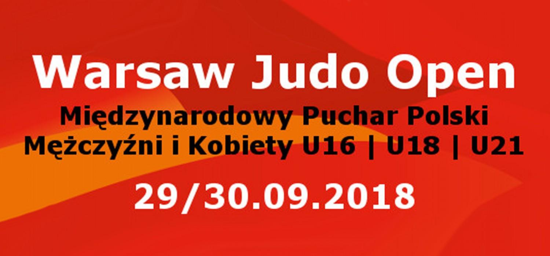 Plakat XIX Warsaw Judo Open