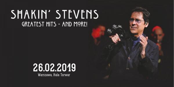 Plakat koncertu Shakin' Stevens