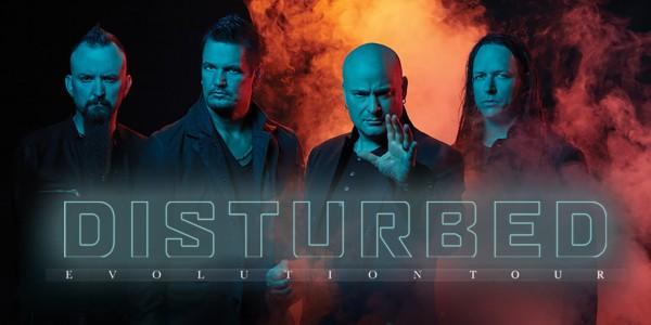 Plakat koncertu Disturbed