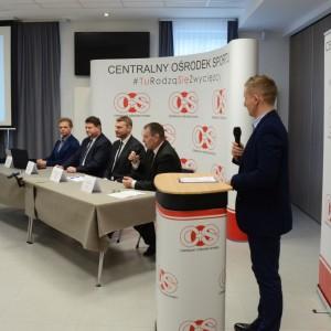 Konferencja w COS Szczyrk