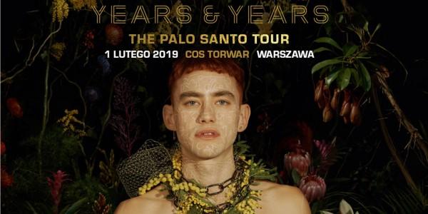 Plakat koncertu Years & Years