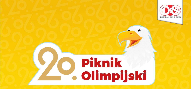 Plakat 20. Pikniku Olimpijskiego