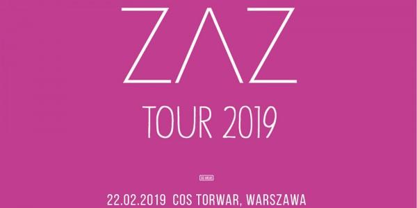 Plakat koncertu ZAZ