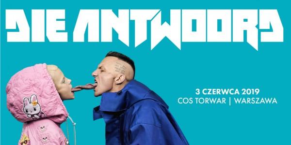 Plakat koncertu Die Antwoord