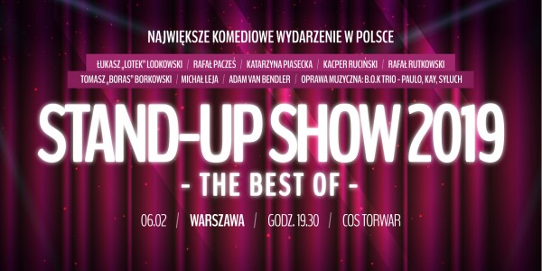 Plakat Stand-Up Show 2019 - The Best of