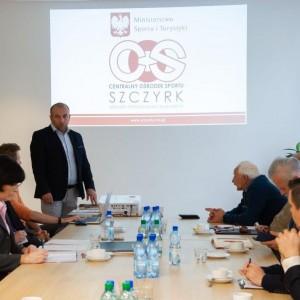 Komisja w COS OPO Szczyrk