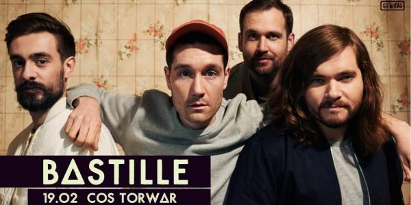 Plakat koncertu Bastille