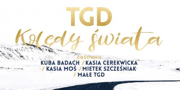 Plakat koncertu Kolędy Świata: TGD + Goście