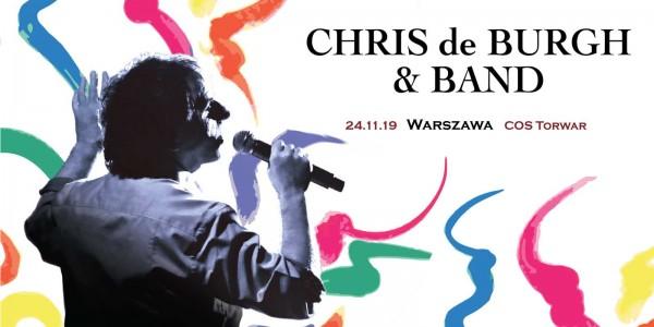 Plakat koncertu Chris De Burgh