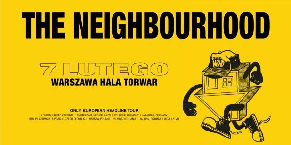 Plakat koncertu The Neighbourhood