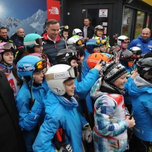 Prezydent Andrzej Duda w COS-OPO Szczyrk
