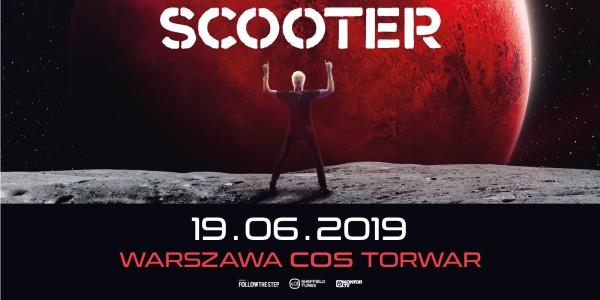 Plakat koncertu Scooter