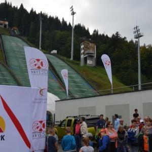 Olimpijczycy skocznia COS